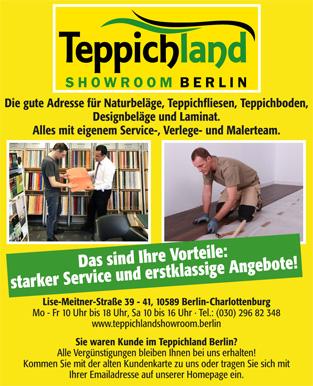 Herzlich Willkommen In Ihrem Teppichland Showroom Berlin